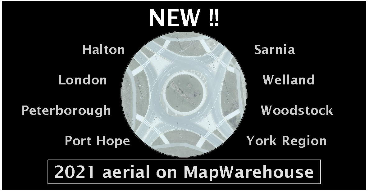What's New on MapWarehouse